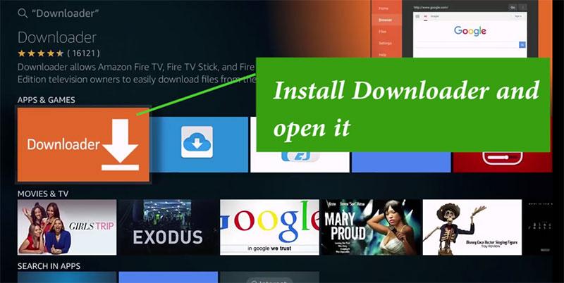 Downloader app