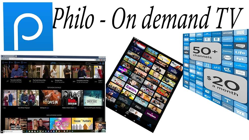 Philo Live and on-demand TV